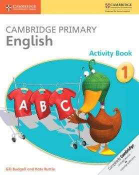 Cambridge International Primary: English Activity Books (years 1-6)