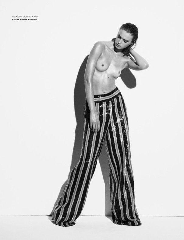 Publication: VIVA! Moda Spring 2014 Model: Sigrid Agren Photographer: Ward Ivan Rafik Fashion Editor: Agnieszka Ścibor Make-up: Jurgen Braun