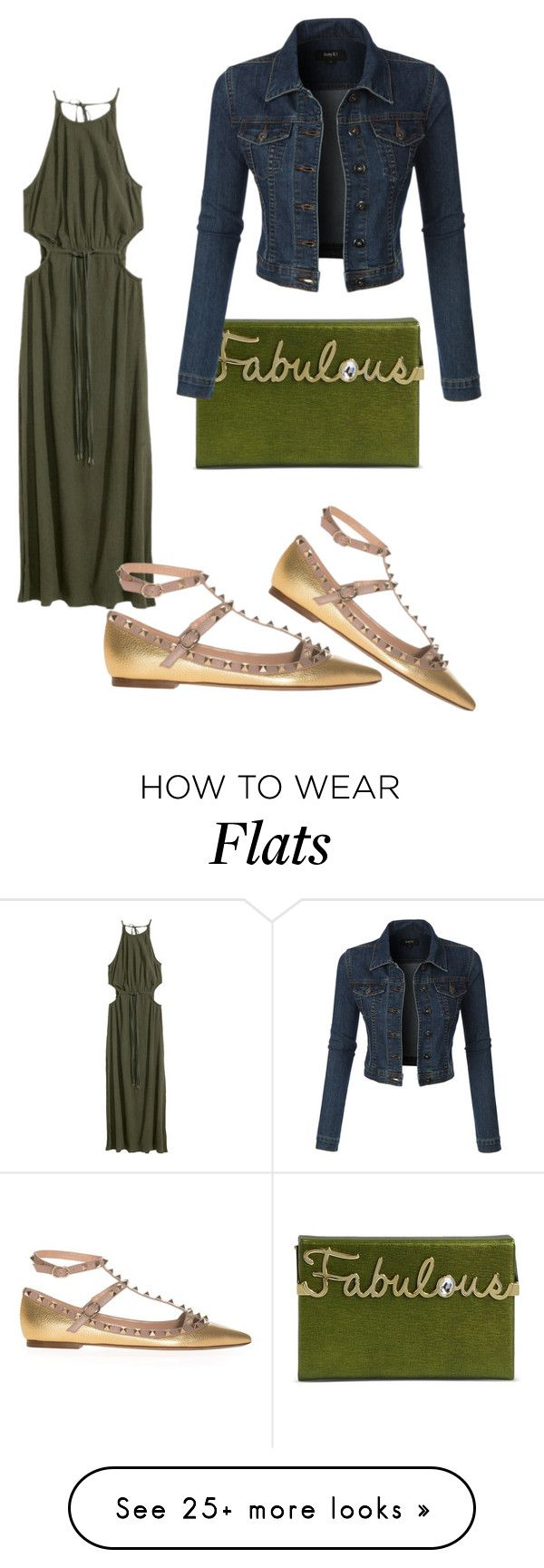 """""""Untitled #2147"""" by styledbycharlieb on Polyvore featuring Valentino, Charlotte Olympia and LE3NO"""