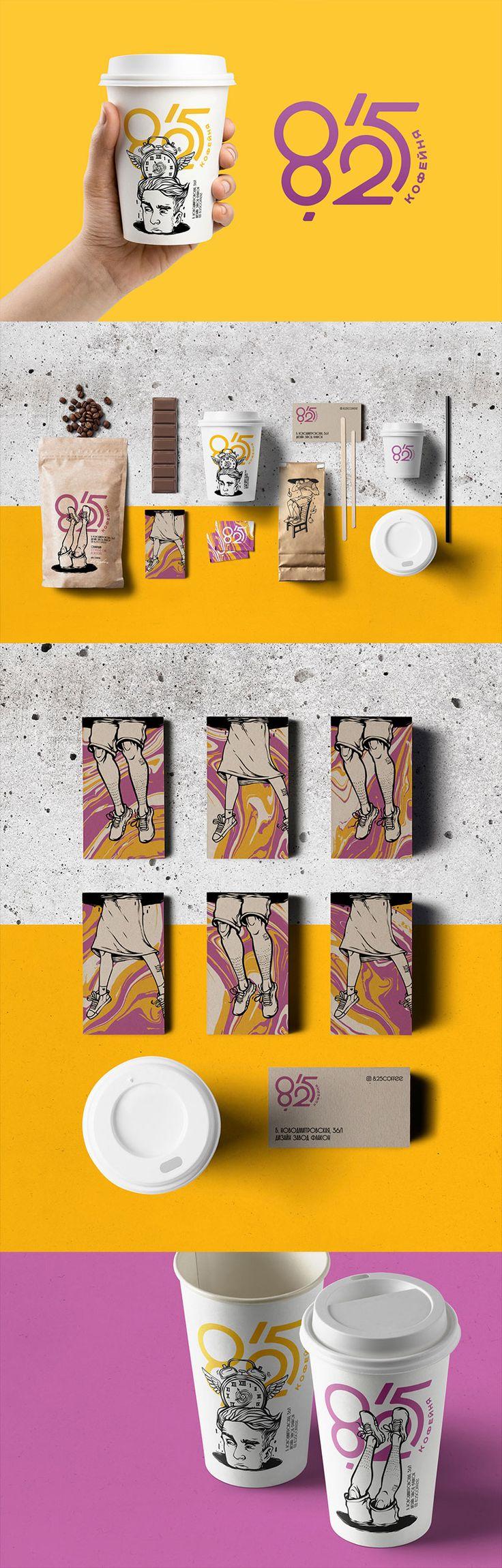Criativa Identidade visual: Café