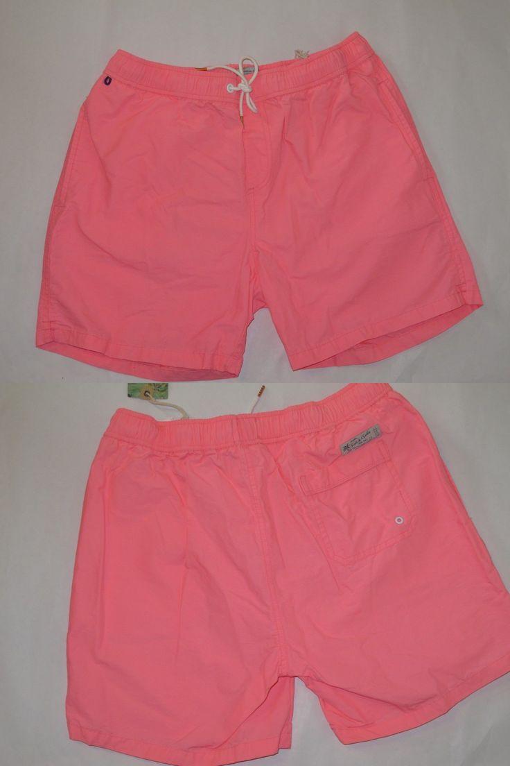 Swimwear 15690: Scotch And Soda Men S Pink Swim Shorts Trunks Xl -> BUY IT NOW ONLY: $64.99 on eBay!