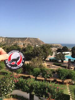 Oh kami travels - with Gary to Praia da Luz, Portugal #ohkamikarate #glasgowkarate