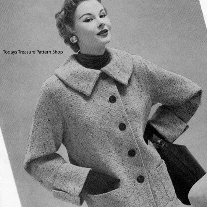 62 Best Knitted Coats Capes Poncho Patterns Vintage Images On