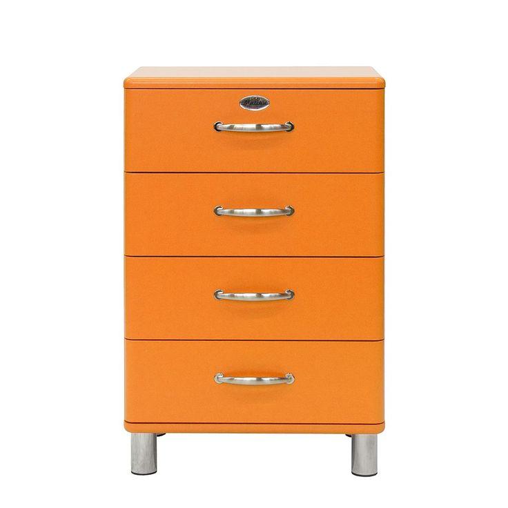 Kommode Malibu III - Orange, Tenzo Möbel, Wohnzimmer, Kommoden & Sideboards, Tenzo Jetzt bestellen unter: https://moebel.ladendirekt.de/wohnzimmer/schraenke/kommoden/?uid=4f702be7-5267-5876-aa62-c683be9945f6&utm_source=pinterest&utm_medium=pin&utm_campaign=boards