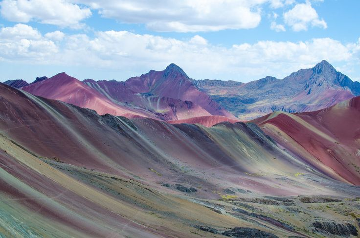 rainbow mountains of Vinicunca, Peru - Google Search