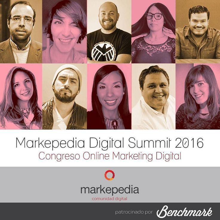 Este 2 de diciembre estaré en el @markepedia digital summit 2016 donde me estarán acompañando 9 especialistas en el área del #MarketingDigital y ventas y lo mejor de todo es que el evento es GRATIS solo debes ingresar a la URL mds2016.markepedia.org este evento es impulsado por @benchmarkemaillatam  Y el tema que estaré conversando es sobre las tendencias de #marketing en el 2017 Qué esperas?  #SocialMedia #SocialNetwork #RedesSociales