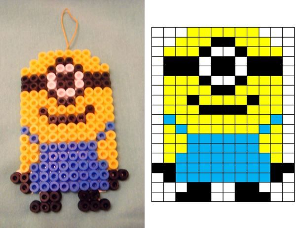 Diy – Strijkkralen Minion