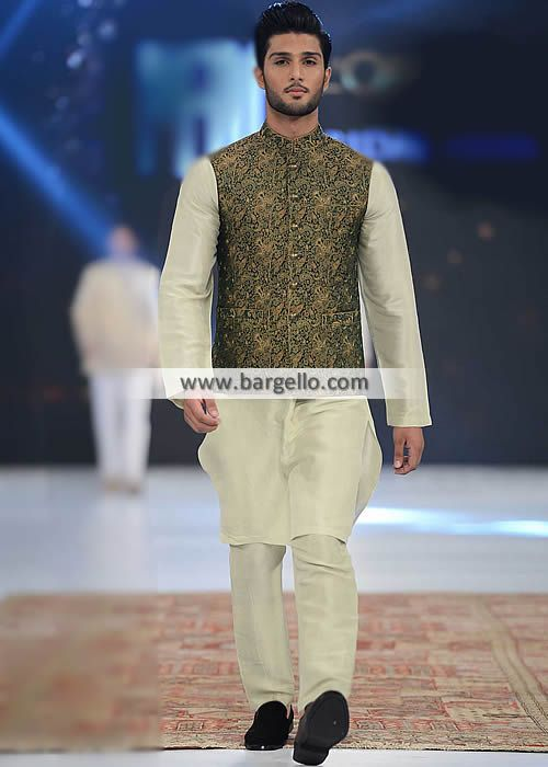 K1012 – Black Banarasi Wasitcoat – #Pakistani #Bridal #Lehenga #Banarasi #Jamawa…
