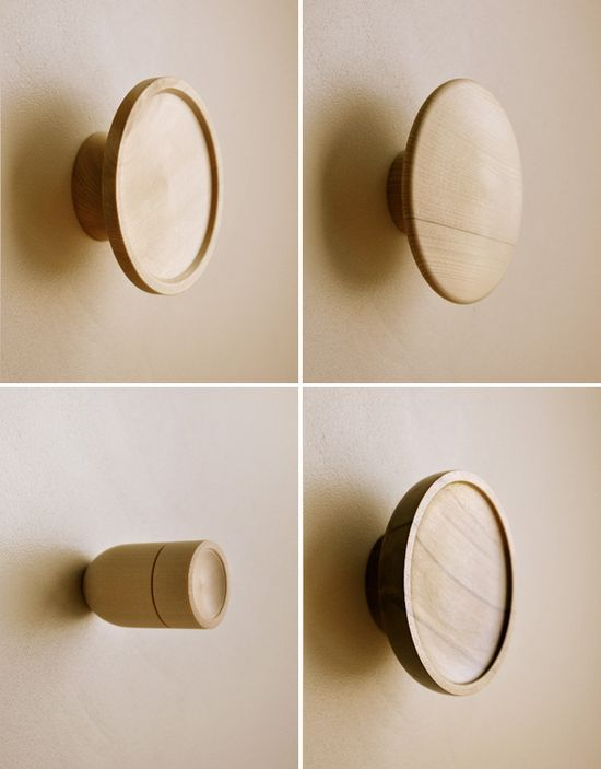 'The O Series' door handles by Interia Design and Architecture – clockwise from top left, 'Stealth', 'Curvy', 'The Big O' and 'Kaboom'! Photos by Dean Baird.