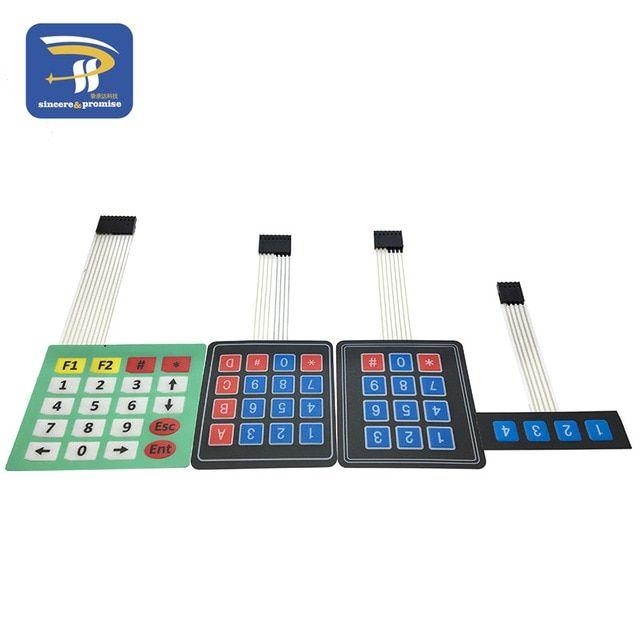 [DIAGRAM_3ER]  New 4 12 16 20 Key 4*4 Membrane Switch Keypad 1x4 3x4 4x4 4*5 Matrix Array  Matrix keyboard for arduino smart car Review | Smart car, Arduino, Voltage  regulator | Membrane 1x4 Keypad Wiring Diagram |  | Pinterest