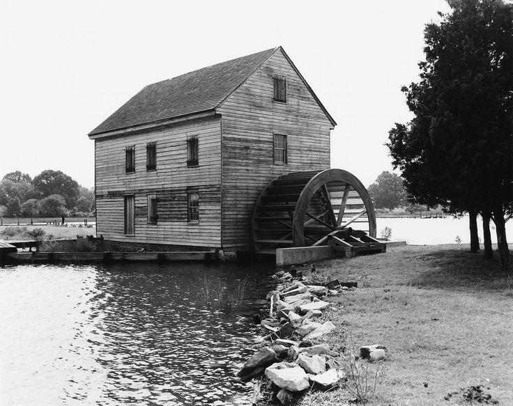 Poplar grove mill and house in mathews county virginia