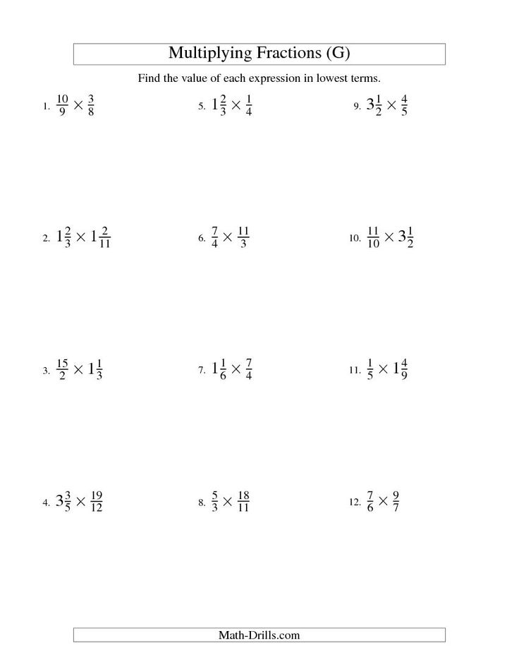 Multiplying And Simplifying Fractions With Some Mixed
