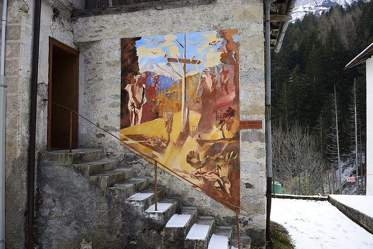 Murales - Cibiana di Cadore
