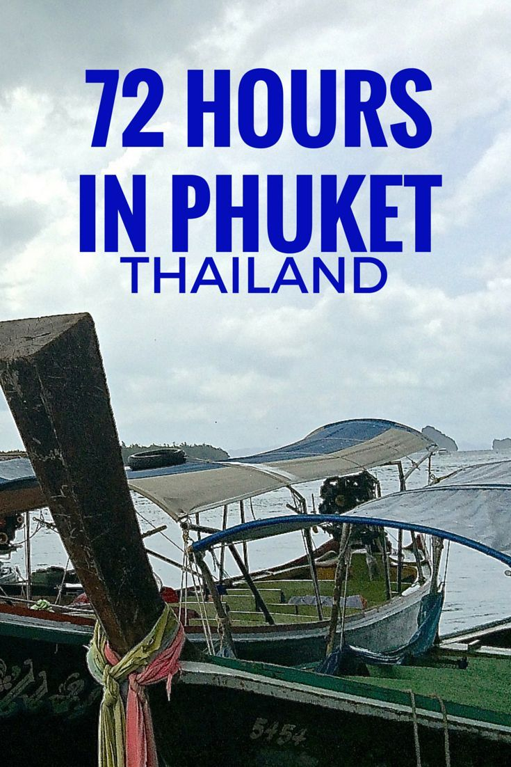 Have 72 hours in Phuket, Thailand? Here are 10 things to add to your itinerary | http://www.rtwgirl.com/10-things-to-do-phuket-72-hours/