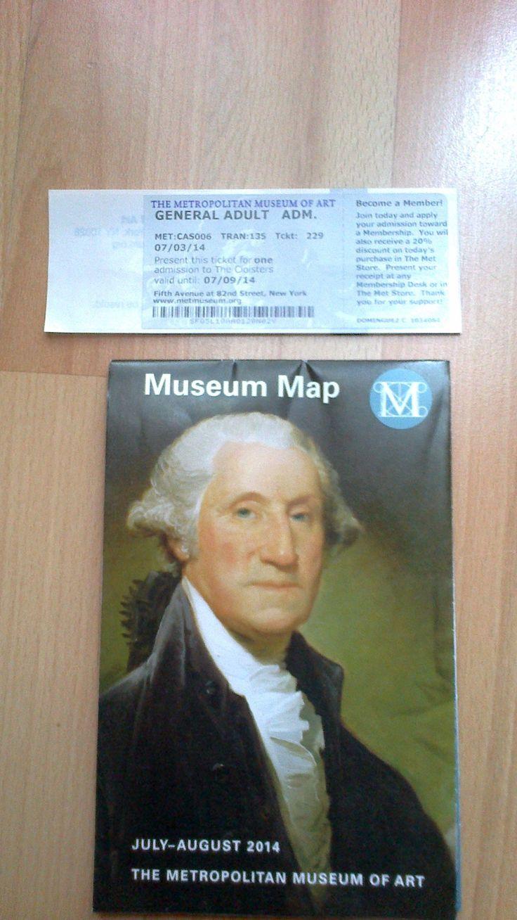 The Metropolitan Museum of Art - ticket http://www.metmuseum.org/