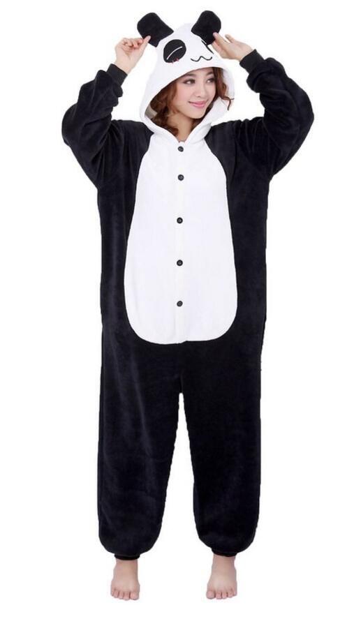 12b2fc6b1e7ad Moollyfox Adulte Unisexe Anime Animal Costume Cosplay Combinaison Pyjama  Outfit Nuit Vêtements Onesie Fleece Halloween Costume Soirée de Déguisement  (L