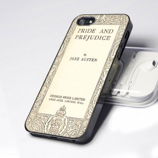 Jane Austen Book Cover iPhone Case Great, now all I need is an iPhone....