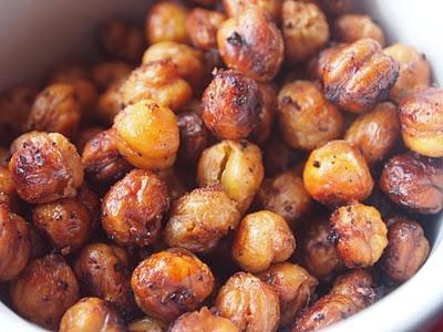 Roasted Chickpeas | Food | Pinterest