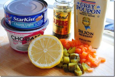 tuna salad with greek yogurt from Iowa girl Eats