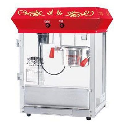 Great Northern 6106 Popcorn Company 6-oz Foundation Popcorn Machine