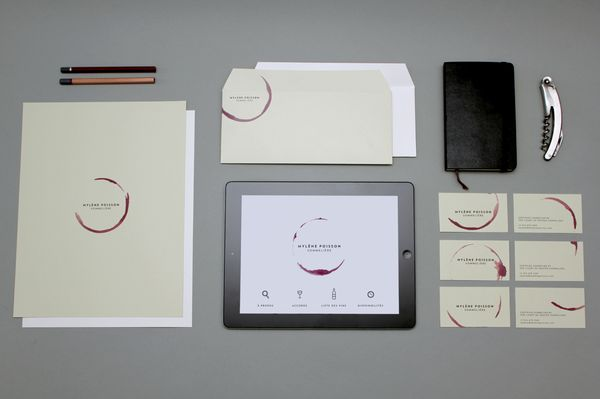 Swooning over this sommelier identity.