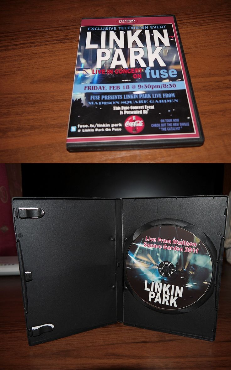 Linkin Park - Live from Madison Square Garden 2011( DVD keep case) Ukraine 2011