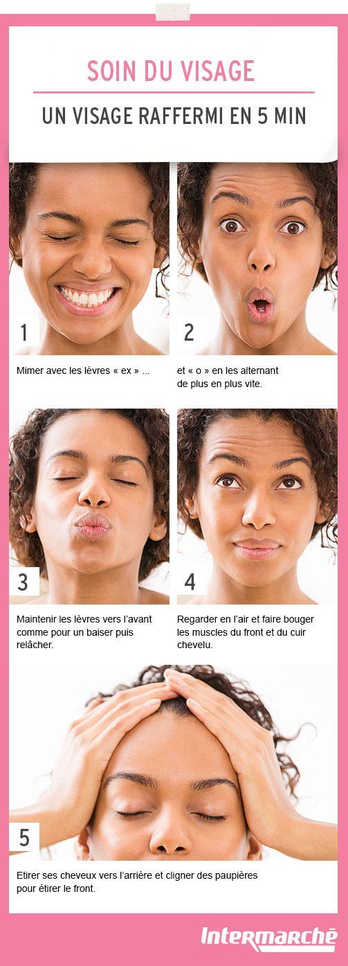 Gardez un visage raffermi en 5 min grâce à ces quelques étapes. #tutoriel