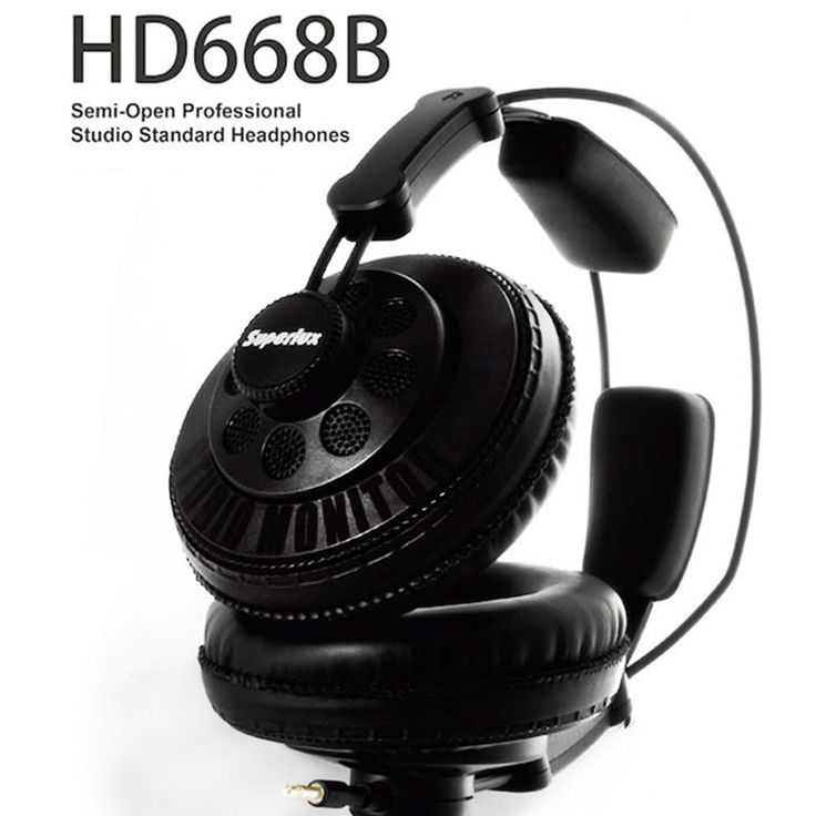 Big sale US $40.99  Original Superlux HD668B Headphones Semi-open Dynamic Professional Studio Monitoring DJ Headset Auriculars Free Shipping  Get promo for product: Laptop