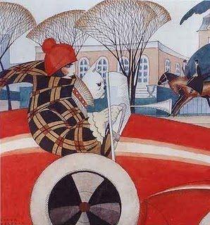 Gerda Gottlieb Wegener Porta (1886-1940 was a Danish illustrator and painter.