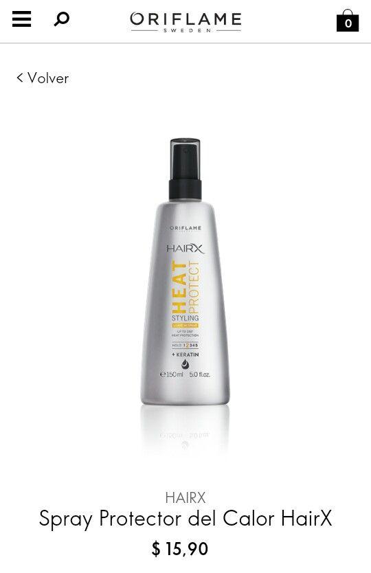 SPRAY PROTECTOR DE CALOR  DESCRIPCIÓN Protege tu cabello del calor de la plancha y del secador hasta 230º.Con Keratina