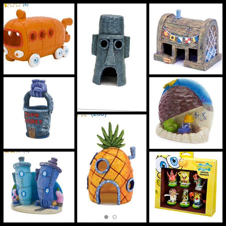 Best 25 fish tank themes ideas on pinterest aquarium for Spongebob fish tank accessories