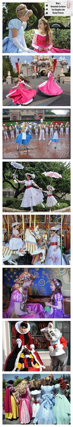 Mom's Homemade Costumes Turn Daughter into Disney Princess | Babble