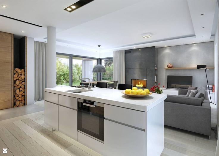 Kuchnia styl Skandynawski - zdjęcie od DOMY Z WIZJĄ - nowoczesne projekty domów - Kuchnia - Styl Skandynawski - DOMY Z WIZJĄ - nowoczesne projekty domów