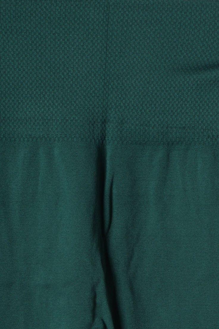 High Waist One Size Seamless Soft Cozy Stretchy Warm Fleece Leggings