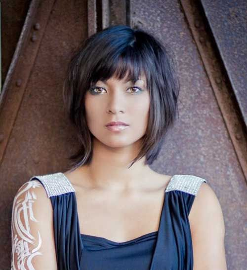 Magnificent 1000 Ideas About Layered Bob Haircuts On Pinterest Layered Bobs Short Hairstyles For Black Women Fulllsitofus