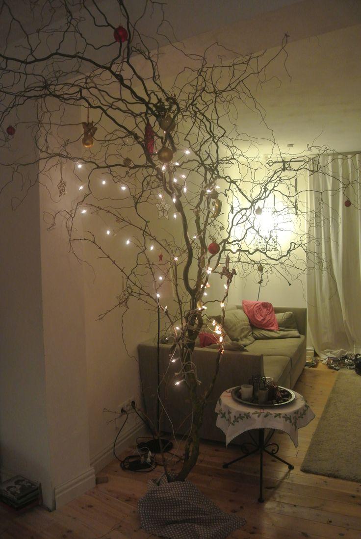 die besten 25 korkenzieherhasel deko ideen auf pinterest. Black Bedroom Furniture Sets. Home Design Ideas