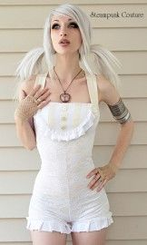 SteampunkFashion, Steampunk Couture, Eye Makeup, Beautiful Women, Skin Products, Outfit, Steam Punk, Bath Suits, Lips Colors