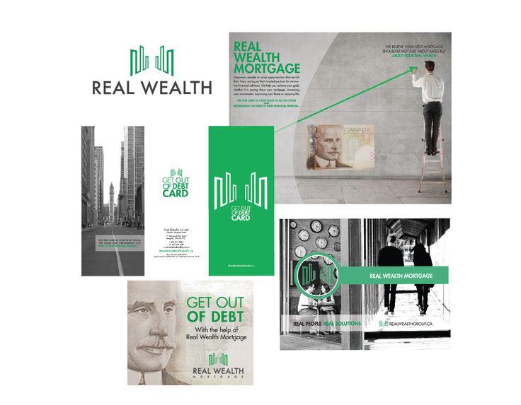 Real Wealth Brochure Design