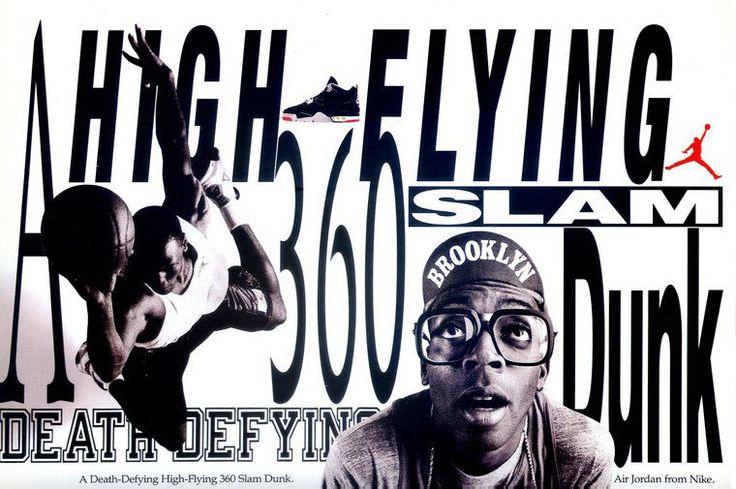 Michael Jordan 'A Death-Defying High-Flying 360 Slam Dunk' Nike Air Jordan Poster (1989)
