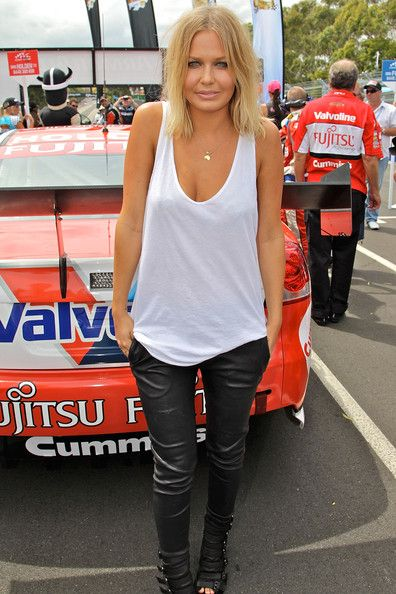 Lara Bingle Photos: Celebrities Attend Sydney 500 V8 Supercars