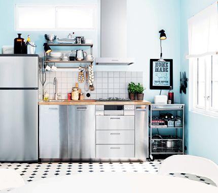 速報】イケアのキッチンシステムが20年ぶりに完全リニューアル ... こんな素敵なキッチンが作れます