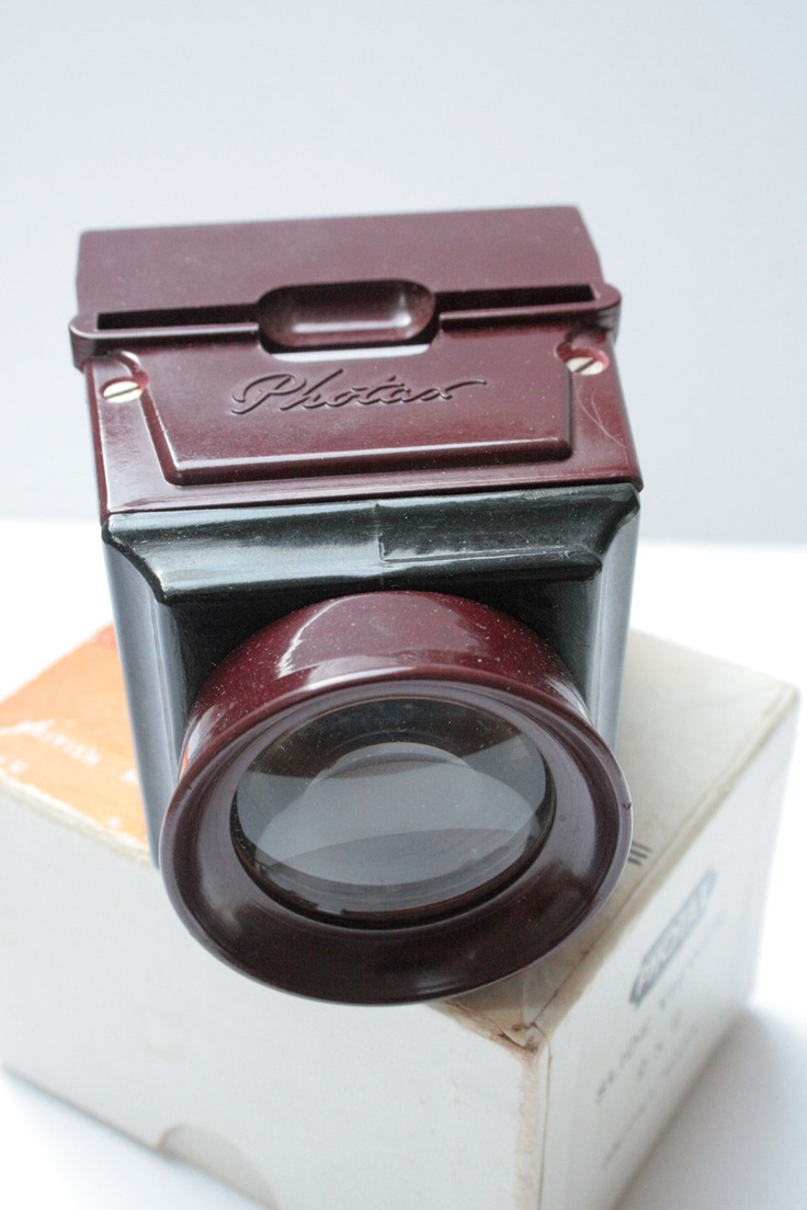 Photax Slide Viewer. £40.00, via Etsy.