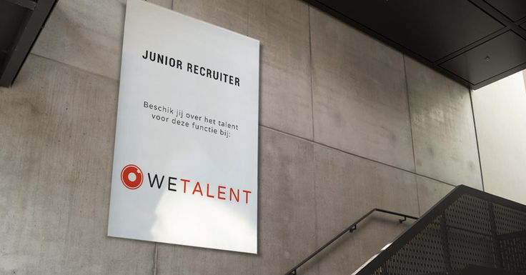 Ben jij de nieuwe Junior Recruiter bij WETALENT?