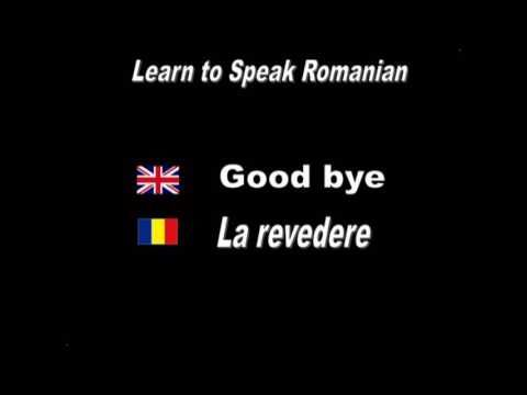 Learn to Speak Romanian