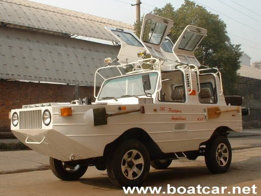 Amazing Amphibious Platypus Jeep | Car Tuning and Modified Cars News