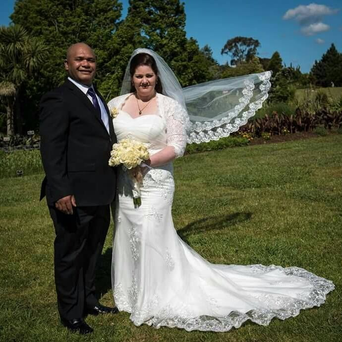 Thank you Vicki for sharing your November 2015 wedding photos with us and for choosing Bridal and Ball CB21-442. You looked so elegant on your special day.