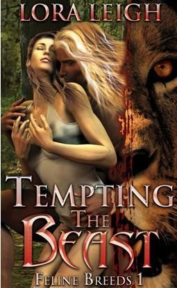 Tempting the Beast (Breeds #1) Lora Leigh's Breed series is very close to the New Species Series