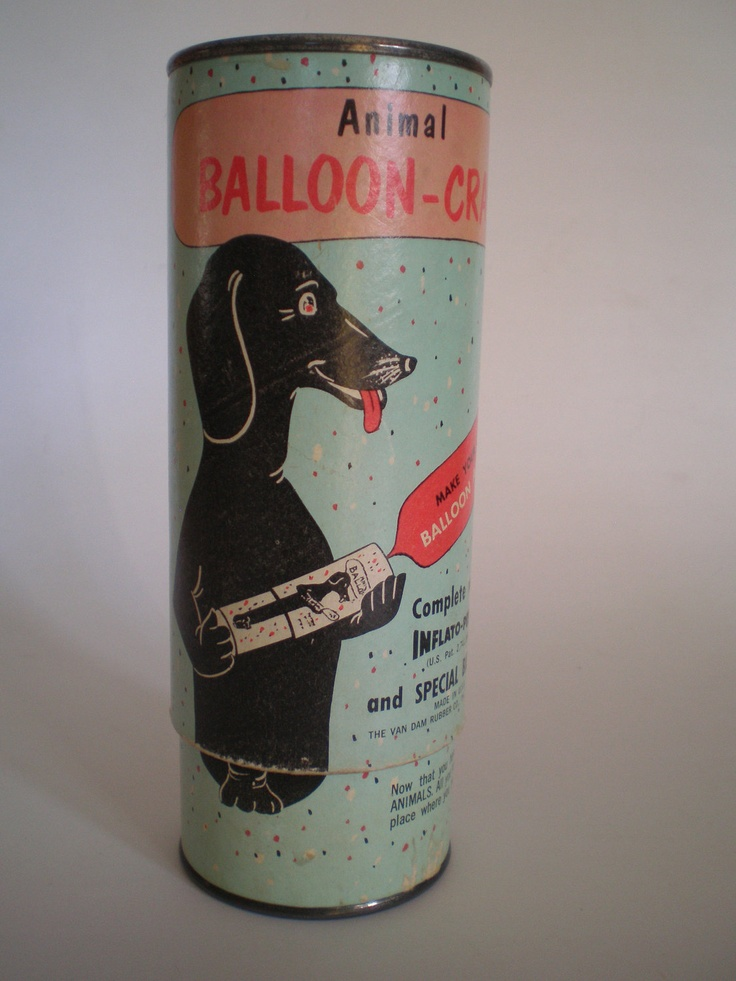 Balloon Pump Animal Balloon-Craft Inflato-Pump; wish they still made these, they really work!!