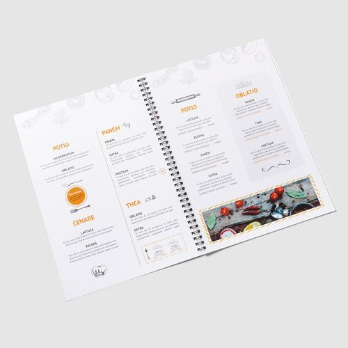 Cartas de platos/bebidas, DIN-A4 en Onlineprinters