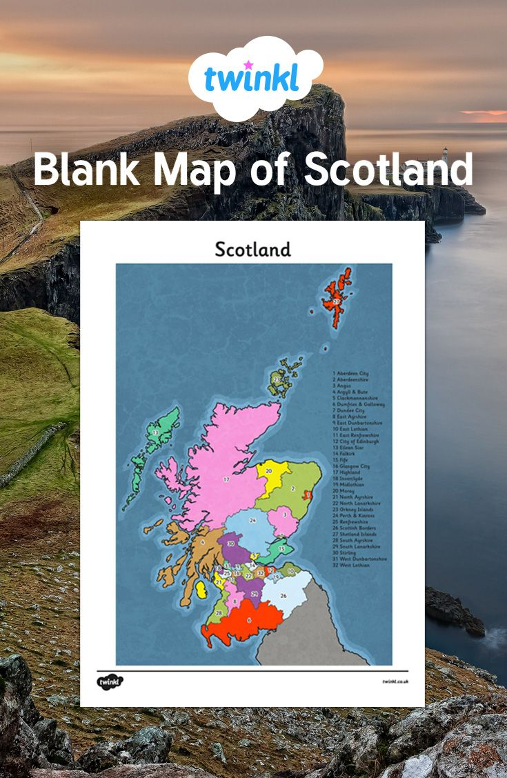 Freer Texas Map%0A This blank map of Scotland can be used for a variety of activities